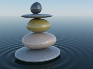 piedras agua